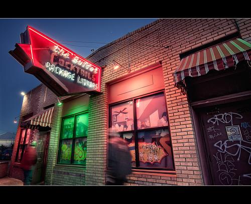 blue arizona bar night canon photography graffiti tucson lounge sigma hour nik cocktails 1020mm dri thebuffet packageliquors t1i bugeyedg