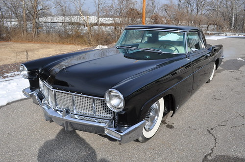 1956 Lincoln Continental Mark II  black