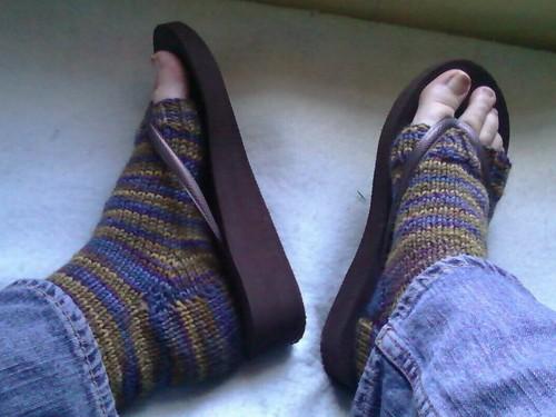 FO: Pedi socks