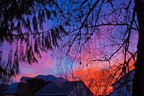 photoshop sunrise january
