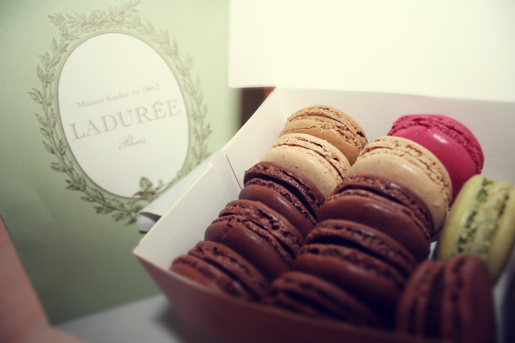 Laduree, Paris - new favourite munchies
