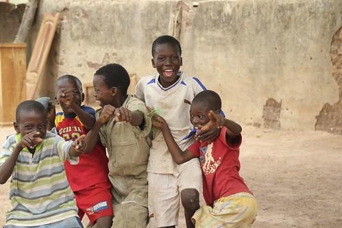 africa boys smile kids fun senegal tambacounda
