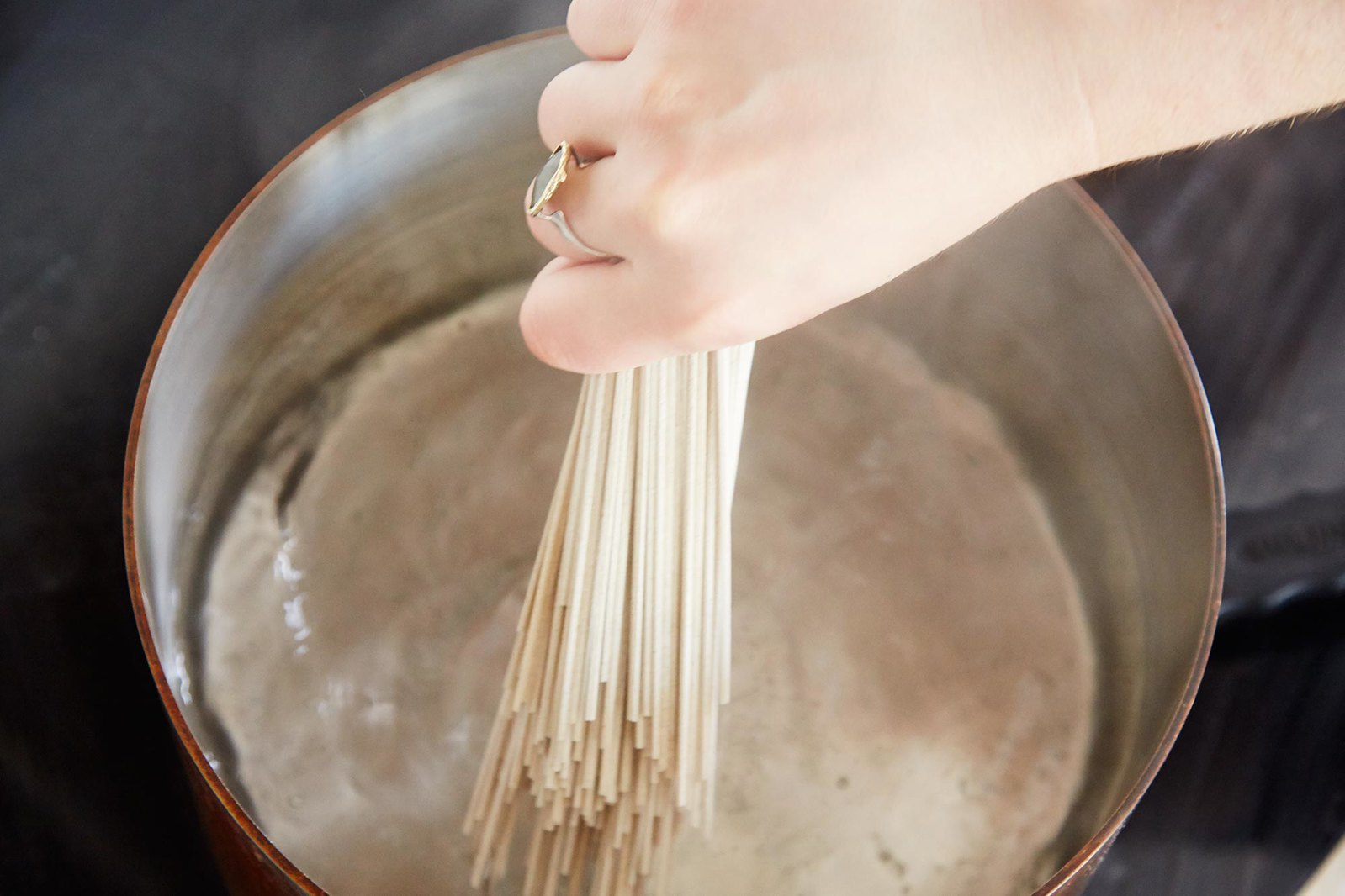 How to Cook Soba Noodles, from Food52