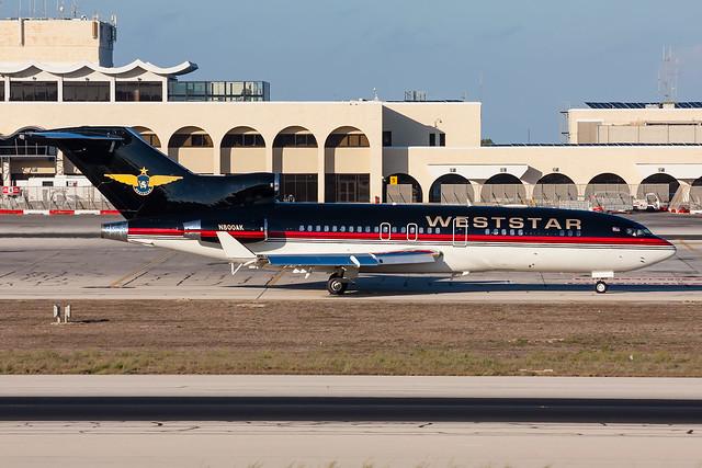 Weststar Aviation / Boeing 727-023 (WL) / N800AK / Malta Luqa Airport / 22.09.16