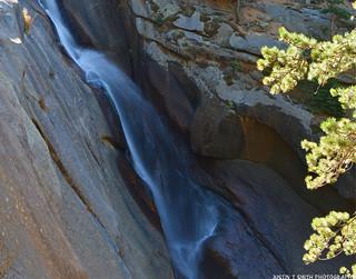 Elk Creek Falls from the new trail