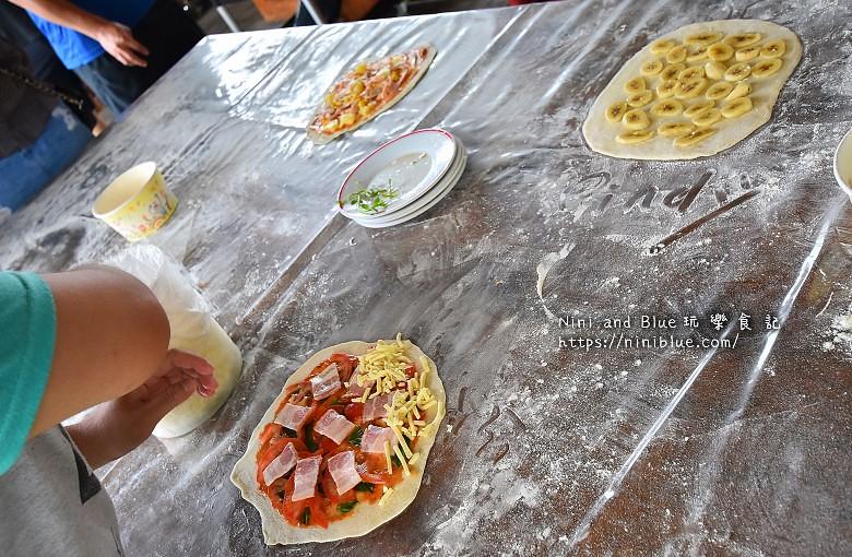 宜蘭安平冰店窯烤披薩DIY22