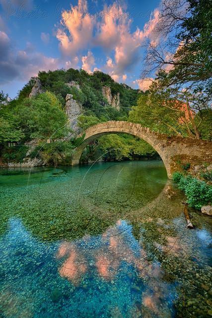Πέτρινο γεφύρι Κλειδωνιάς Stone brigde of Klidonia 4