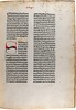 Manuscript initial in Rodericus Zamorensis: Speculum vitae humanae