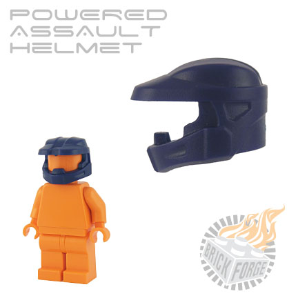 Powered Assault Helmet - Dark Blue