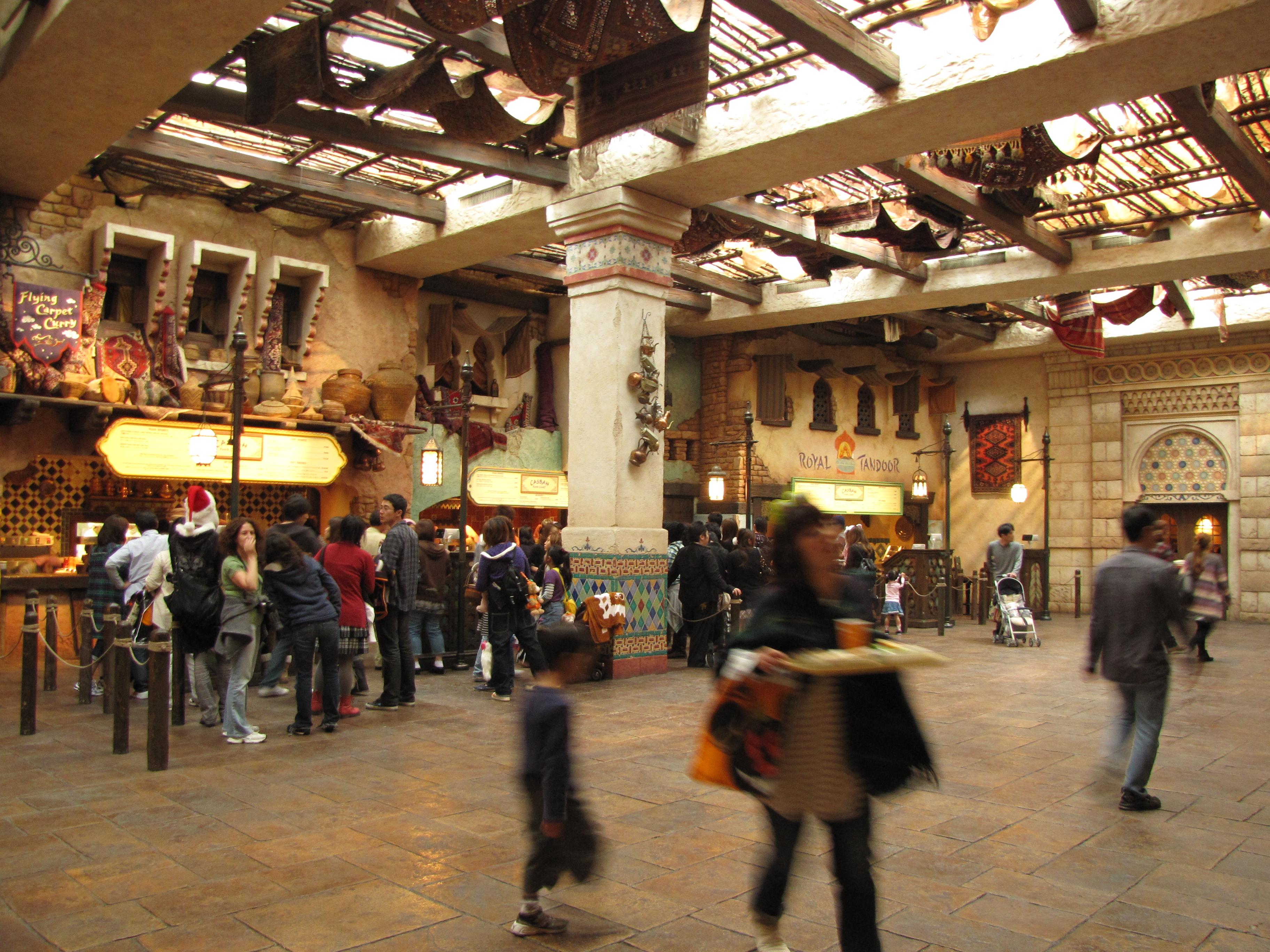Tokyo Disney Sea - Casbah Food Court