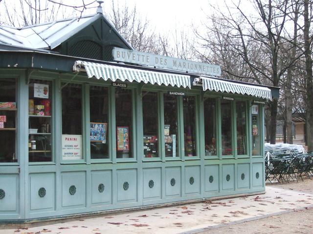 Buvette des marionnettes cafe jardin du luxembourg for Cafe jardin du luxembourg