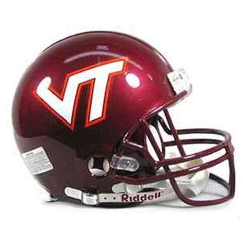 VirginiaTech Football Helmet