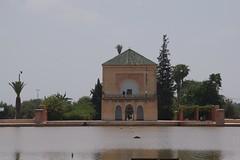 Jardim da Menara em Marraquexe