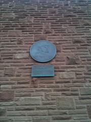Photo of John Charles Gittins brass plaque