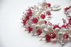Rose Pink glass bead bracelet (4)