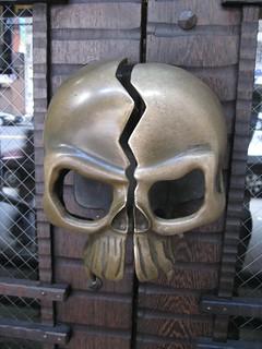 skull handles