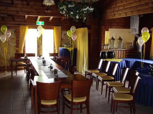 Tafeldecoratie 3ballonnen La Campagne Geervliet