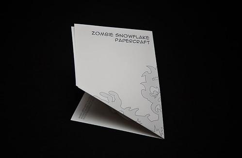 step-3: Zombie Snowflake Papercraft