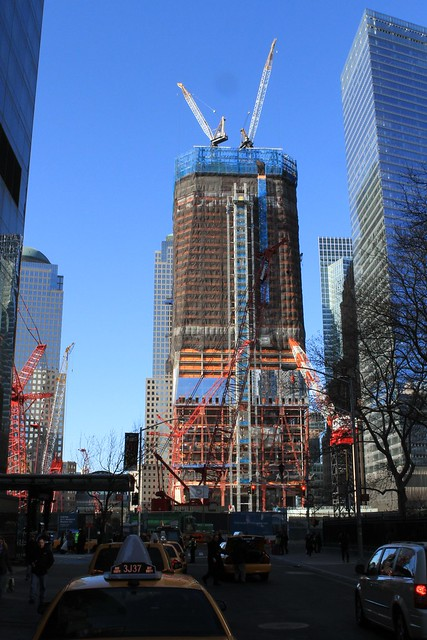World Trade Center Construction Progress
