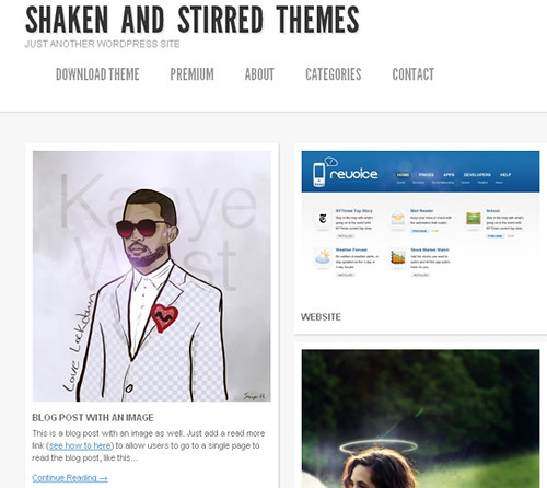 Shaken and Stirred Theme