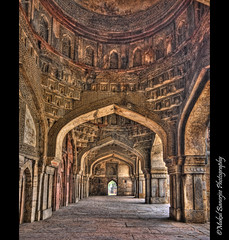 Friday Mosque at Bara Gumbad Complex, Lodi Gardens, New Delhi