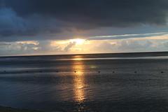 setting sun, Mauritius