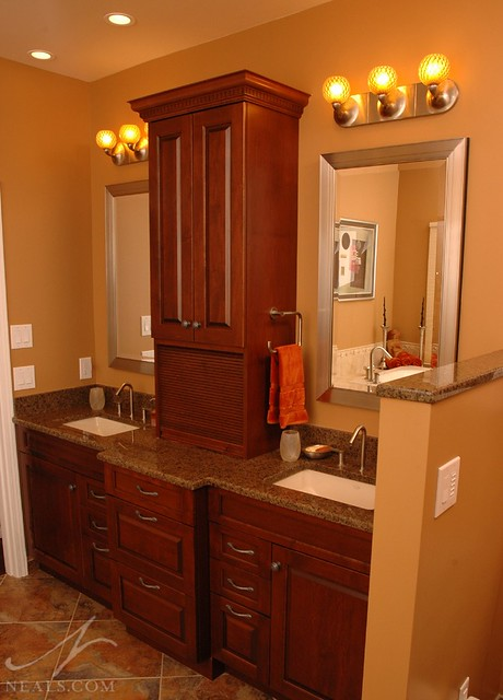 Bathroom Remodel Bathroom Storage Tower Vanity Cincinnati