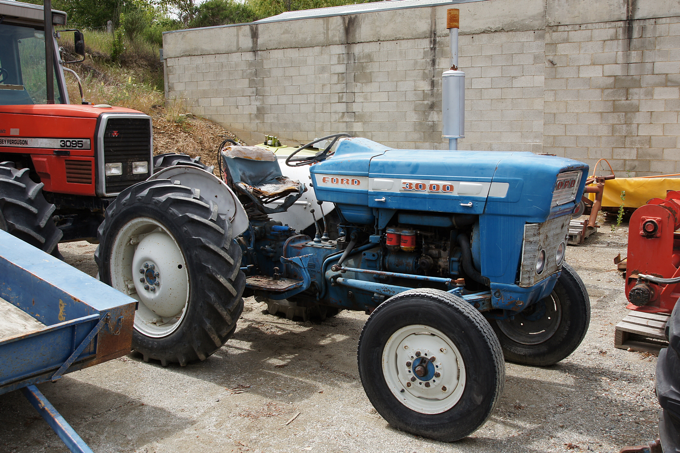 Ford 3000 Tractor Mechanical Blueprint : Ford tractor car interior design