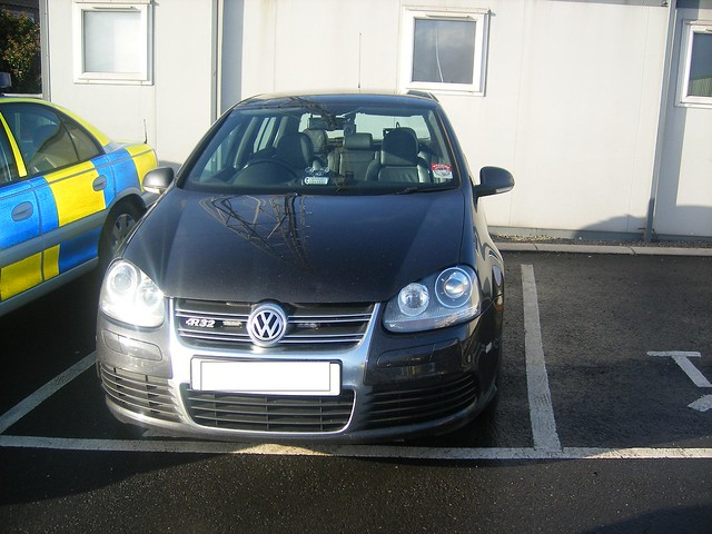 PSNI VW Golf R32, Fujifilm FinePix F460