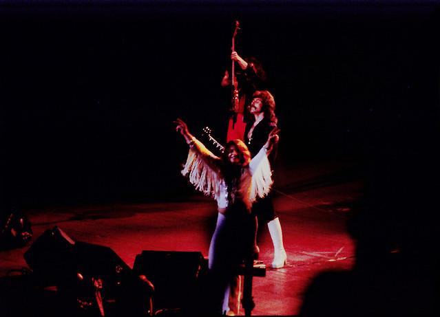 1977 ozzy osboune in black sabbath rock concert msg flickr photo sharing. Black Bedroom Furniture Sets. Home Design Ideas