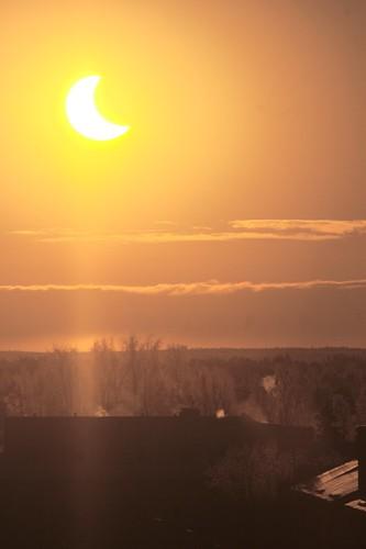sun eclipse solareclipse pori partialsolareclipse auringonpimennys osittainenauringonpimennys