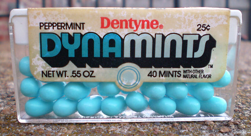Vintage Dentyne Dynamints Peppermint Mints