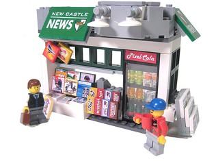 Lego Newsstand
