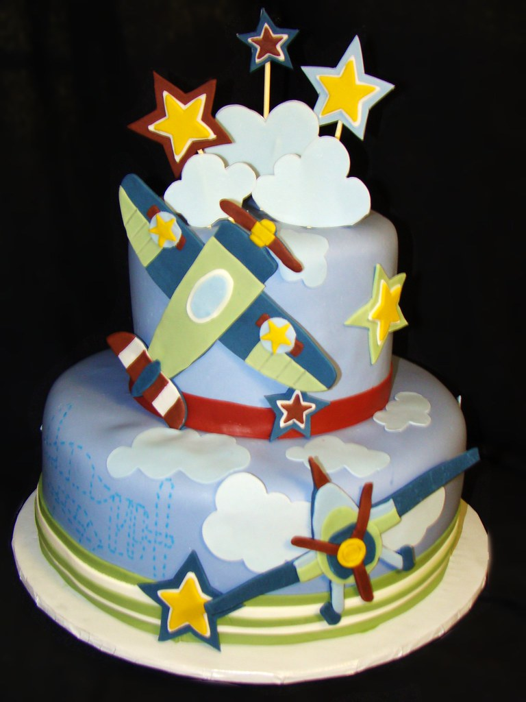 Images Of Plane Cake : Airplane Baby Shower Cake Ideas and Designs