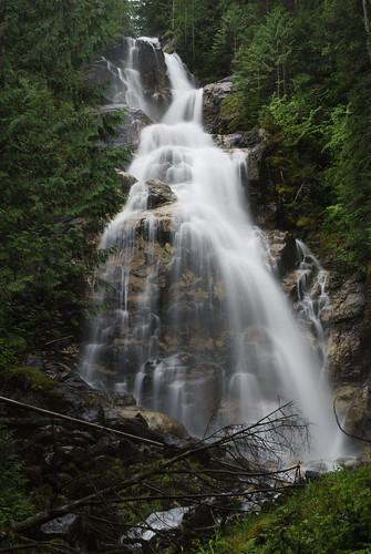 longexposure water bc geocaching hiking britishcolumbia falls googleearth westcoastvacation 93793499n00