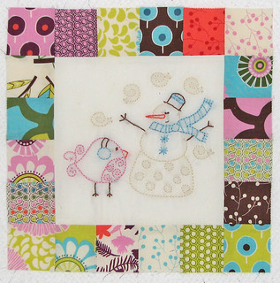 Birdie Stiches Block