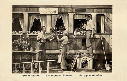 Willy Fritsch, Lilian Harvey, Willi Forst, Ein blonder Traum