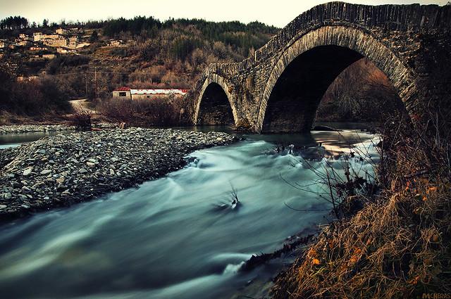 Milos Stone Bridge