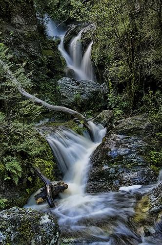 river waterfall bravo crystal nz otago aotearoa waipori