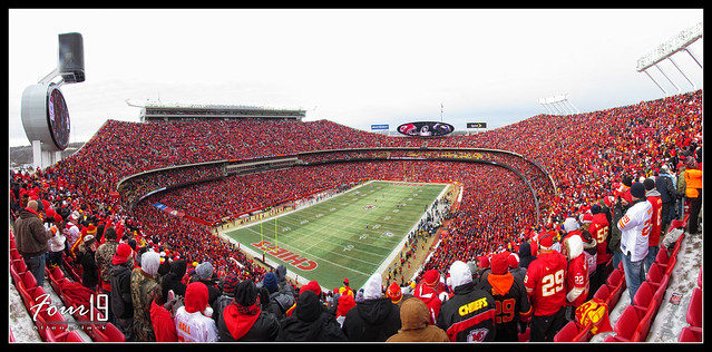 Arrowhead Stadium - Kansas City Chiefs Playoff Game