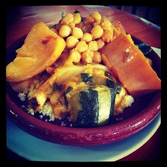 Today is Thursday, this is Egyptian Couscous