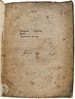 Annotations (numbering) on title-page of Diogenes Cynicus: Epistolae [Latin]