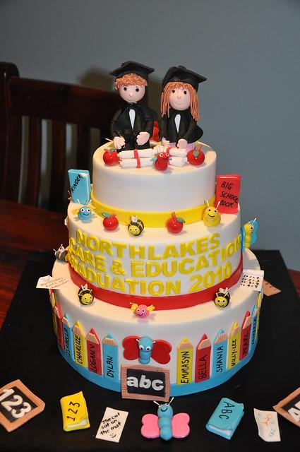 kindergarten graduation cakes