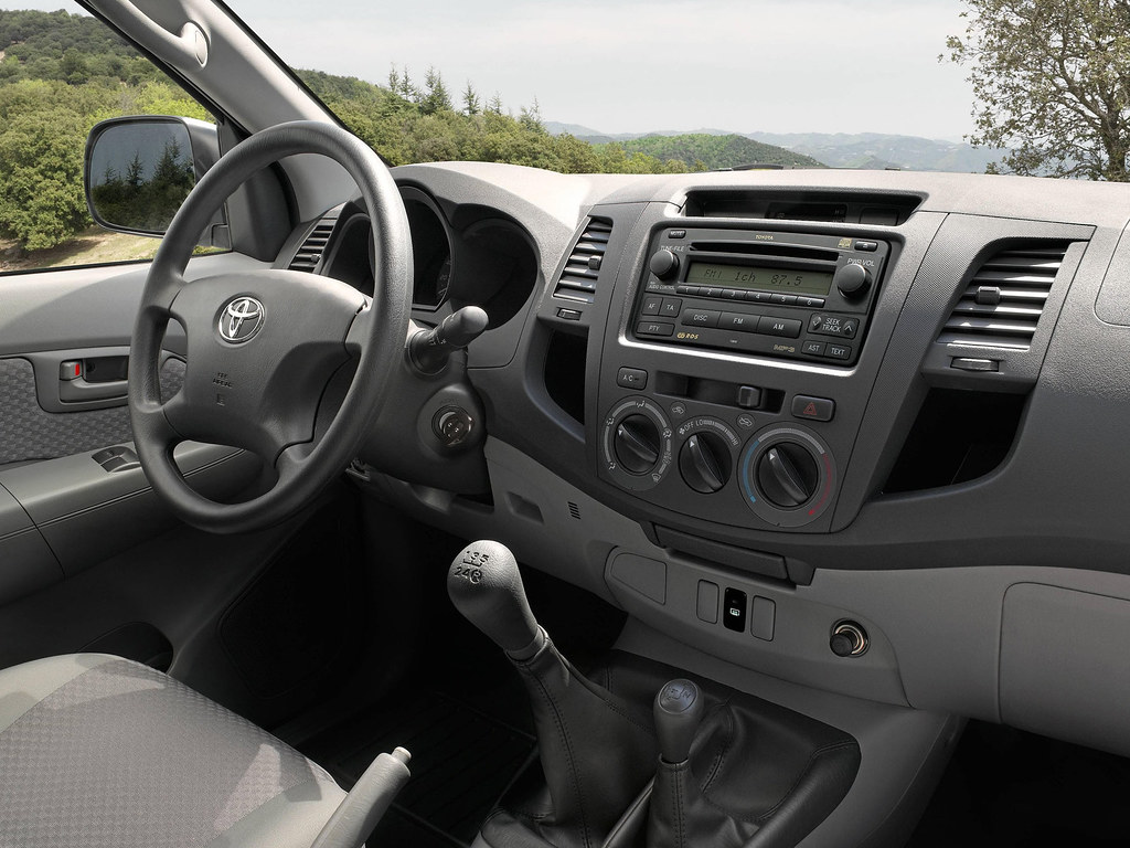 Toyota Hilux 2010 Interior - a photo on Flickriver