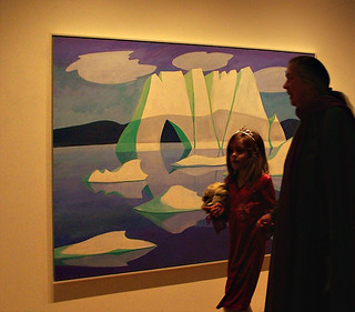 Doris McCarthy Painting of Iceberg, 2005