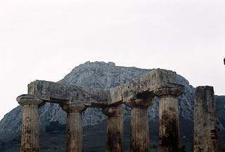 Acrocorinth, seen from Aphrodite Temple