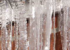 winter, water, melting, frost, icicle, freezing,