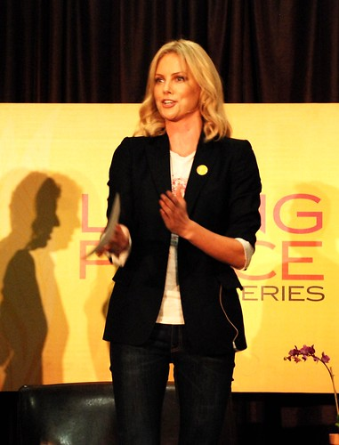 Charlize Theron at UCI