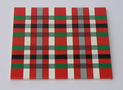 Red Tartan in Lego