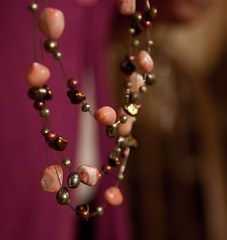 purple, pearl, jewellery, macro photography, close-up, necklace, pink, bead,